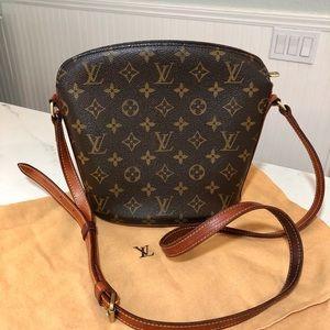 Authentic Louis Vuitton Drouot crossbody bag